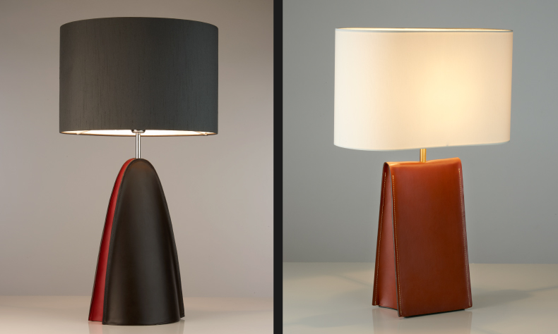 Chad Lighting launches new designs in leather