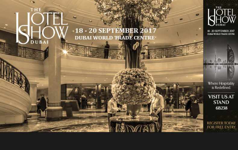 Join us at The Hotel Show, Dubai!