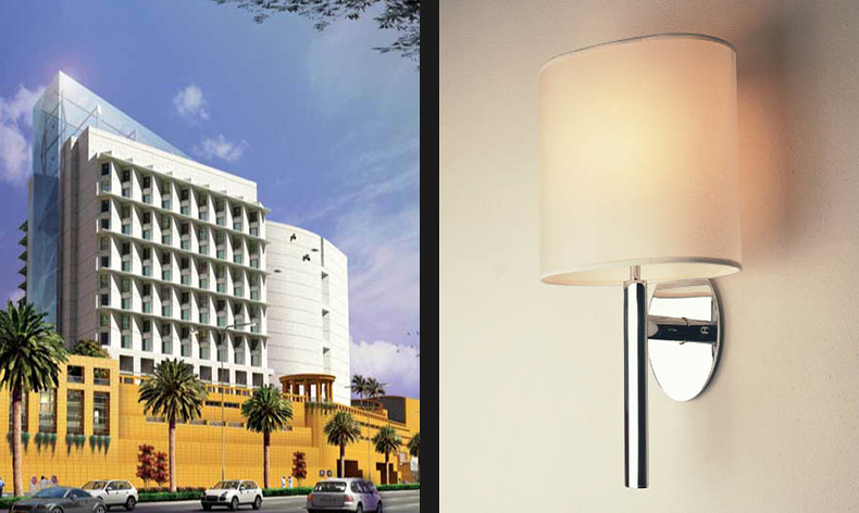 Kepler Wall Light for Hilton, Saudi Arabia
