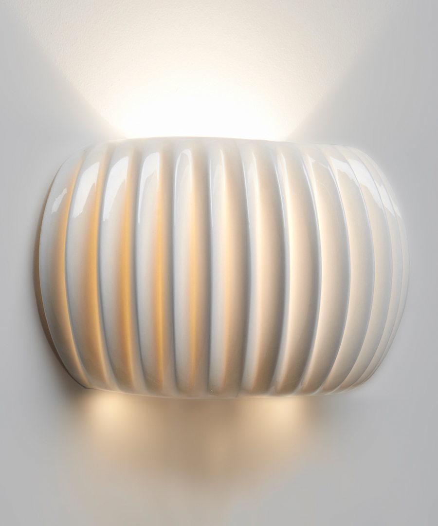 Monterey wall light, Bone China - Chad Lighting