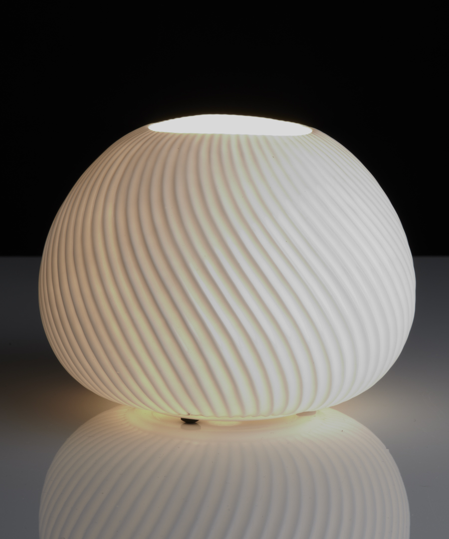 Urchin table light, bone china table lamp giving a warm glow - Chad Lighting