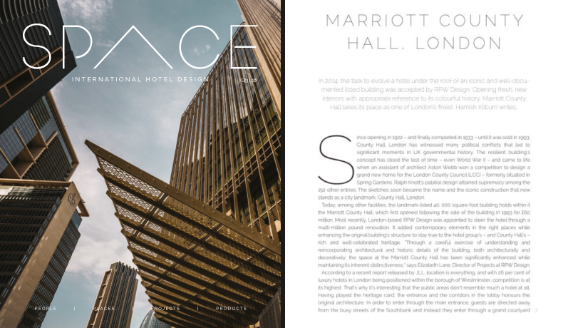 Marriott County Hall Article